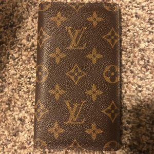 Louis Vuitton pocket agenda/ wallet/organizer